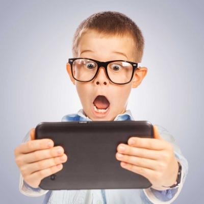 ارتباط جالب کودکان با اطرافیانشان در دنیای تکنولوژی